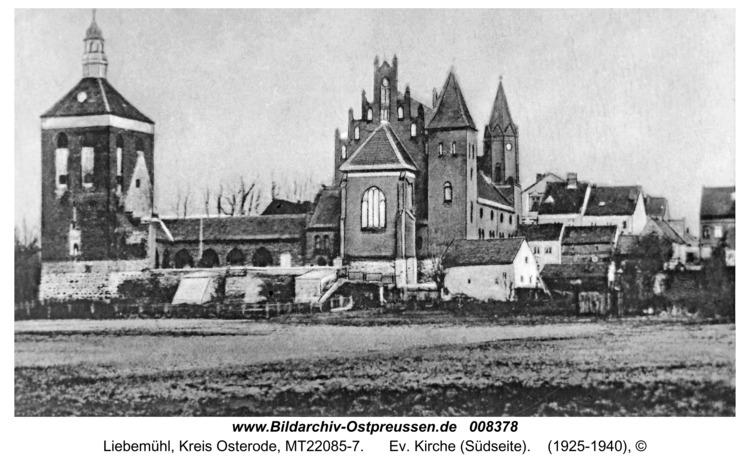 Liebemühl, Ev. Kirche (Südseite)