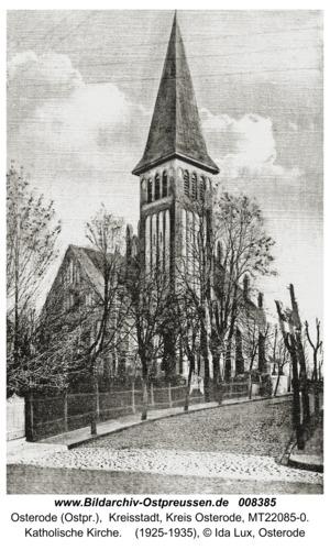 Osterode (Ostpr.), Katholische Kirche