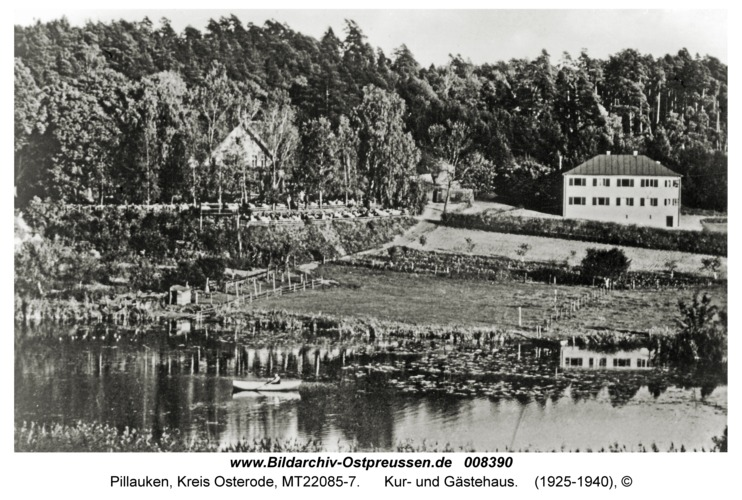 Kolonie Pillauken, Kur- und Gästehaus