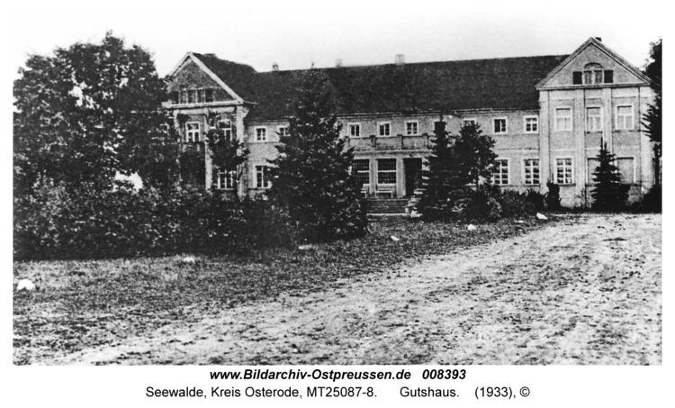 Seewalde Kr. Osterode, Gutshaus