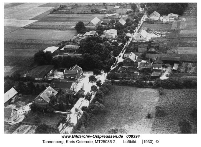 Tannenberg, Luftbild