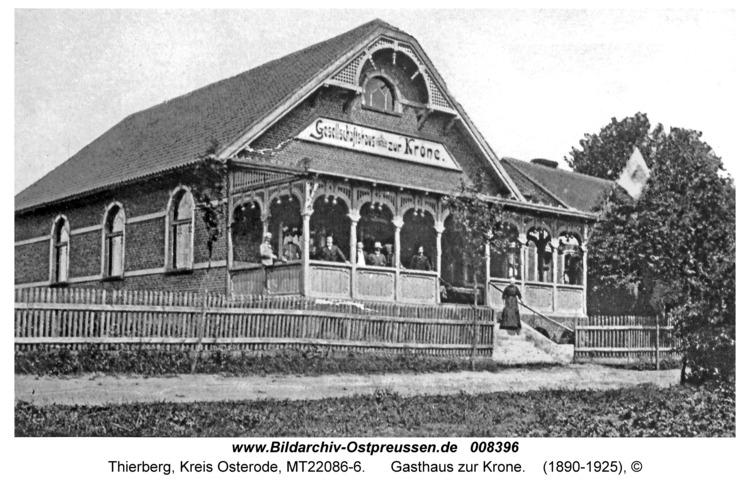 Thierberg, Gasthaus zur Krone