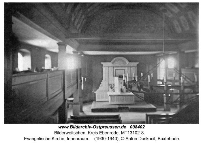 Bilderweiten, Kirche, Innenraum