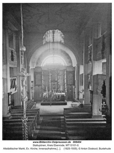 Ebenrode, Kirche -Innenraum-