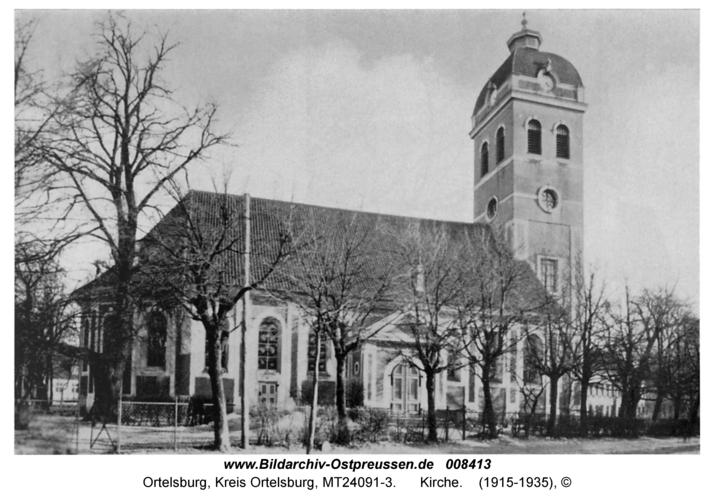 Ortelsburg, Kirche
