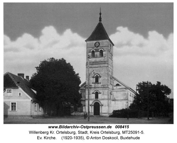 Willenberg, Ev. Kirche