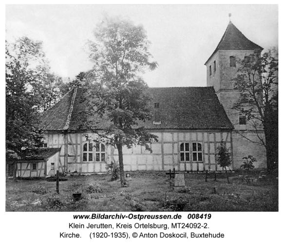 Klein Jerutten, Kirche