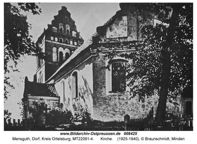 Mensguth, Kirche