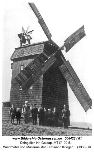 Widmannsdorf, Windmühle von Müllermeister Ferdinand Krieger