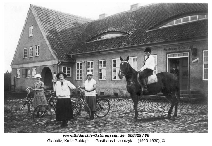 Glaubitz, Gasthaus L. Jorczyk