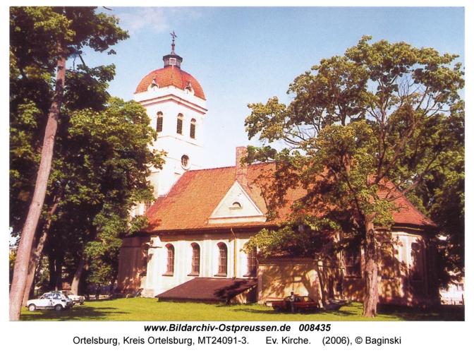 Ortelsburg, Ev. Kirche