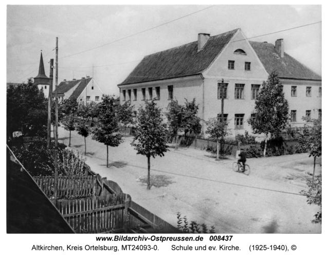Altkirchen, Schule und ev. Kirche