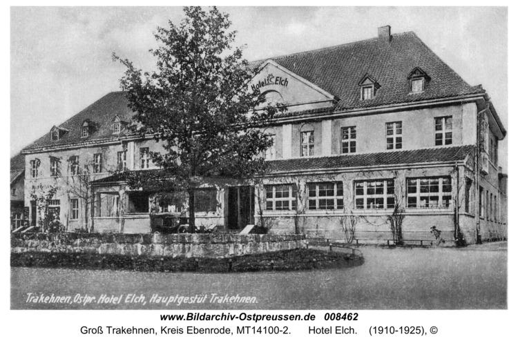 Groß Trakehnen, Hotel Elch