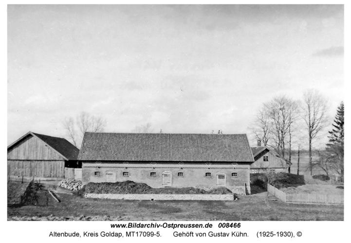 Altenbude, Gehöft von Gustav Kühn