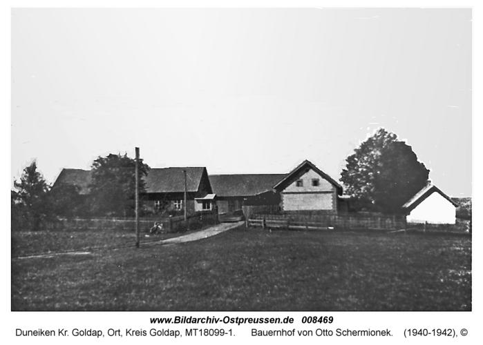 Duneiken, Bauernhof von Otto Schermionek