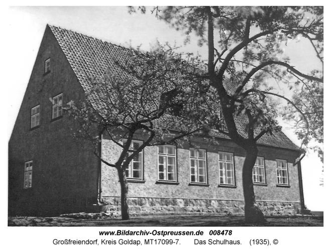 Großfreiendorf, Das Schulhaus