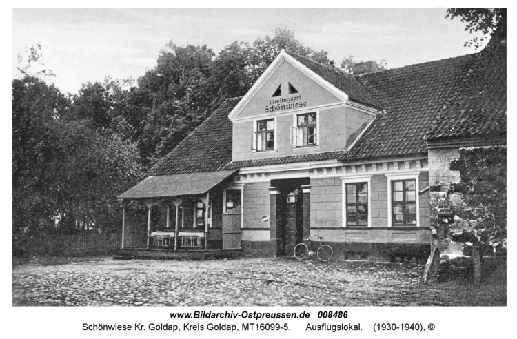Schönwiese Kr. Goldap, Ausflugslokal