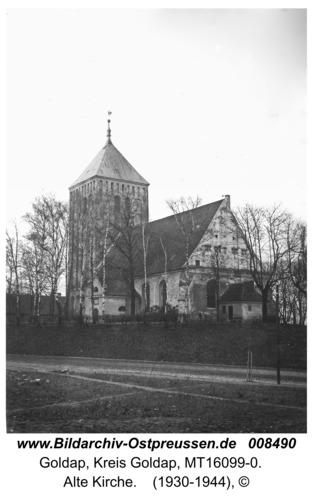 Goldap, Alte Kirche