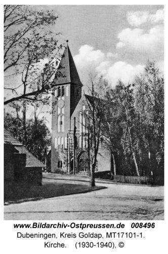 Dubeningen, Kirche