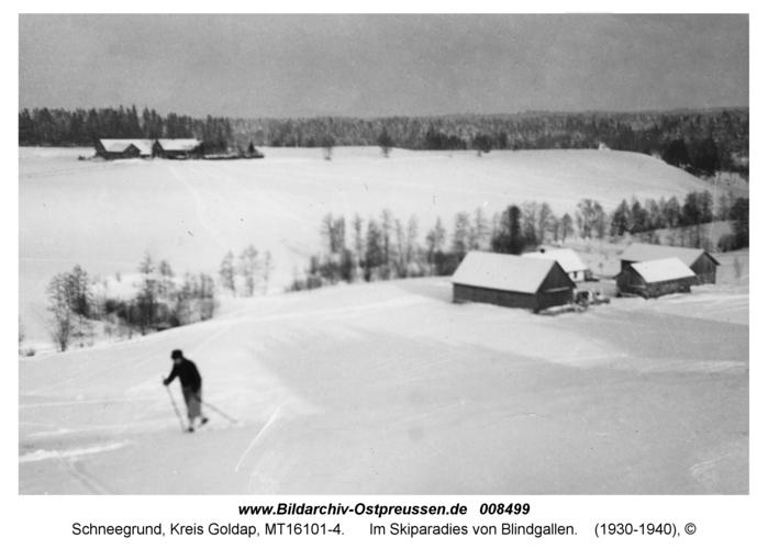 Schneegrund, Im Skiparadies von Blindgallen