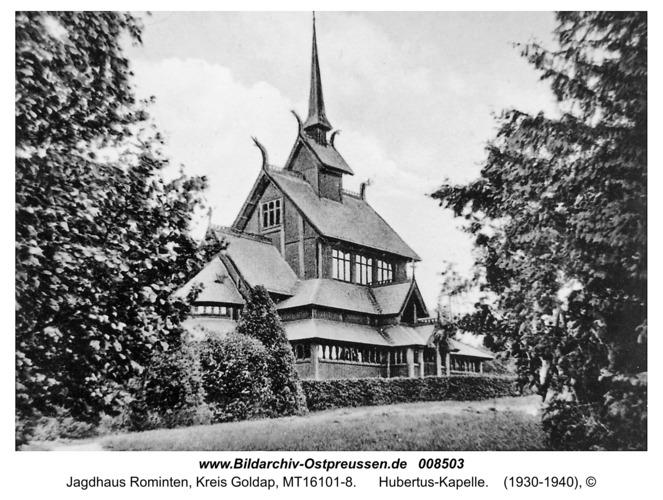Jagdhaus Rominten, Hubertus-Kapelle