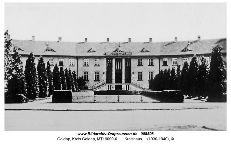 Goldap, Kreishaus