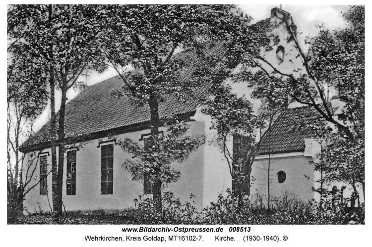 Wehrkirchen, Kirche