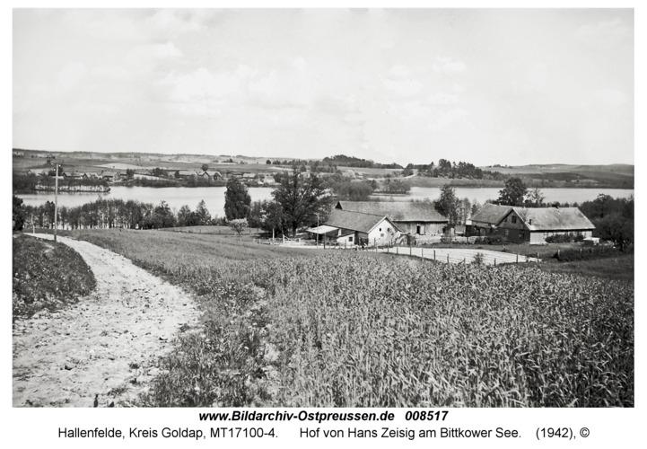 Hallenfelde, Hof von Hans Zeisig am Bittkower See