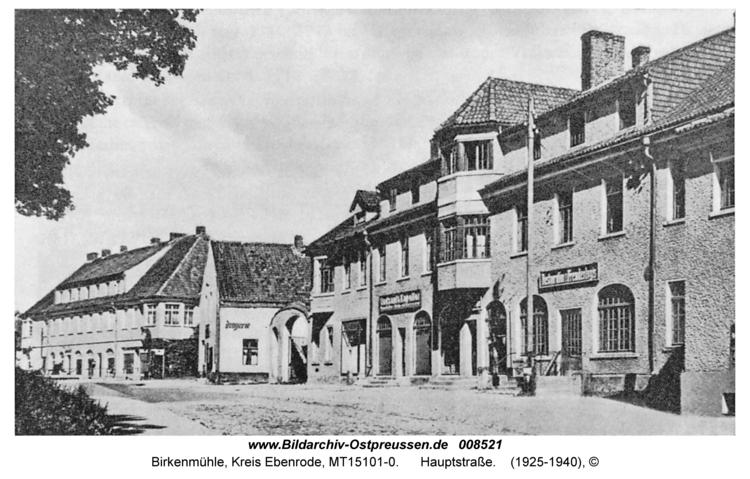 Birkenmühle, Hauptstraße