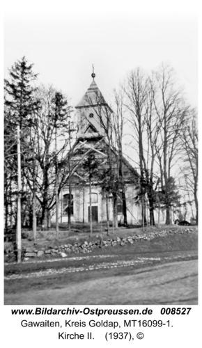 Herzogsrode, Die Kirche Garwaiten mit neuerbautem Turm (Blick von Südwest)