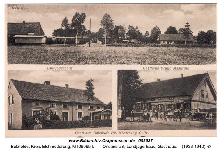 Bolzfelde, Ortsansicht, Landjägerhaus, Gasthaus