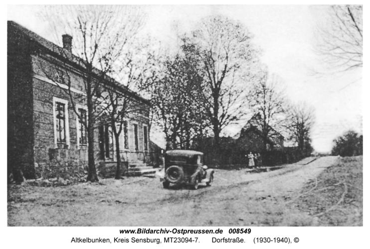 Altkelbunken, Dorfstraße