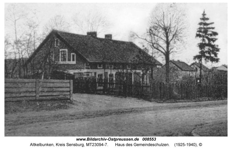 Altkelbunken, Haus des Gemeindeschulzen