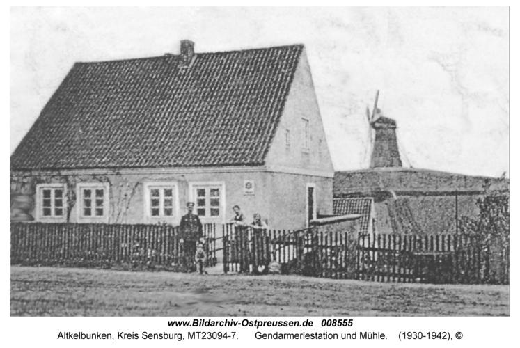 Altkelbunken, Gendarmeriestation und Mühle