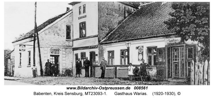 Babenten, Gasthaus Warias