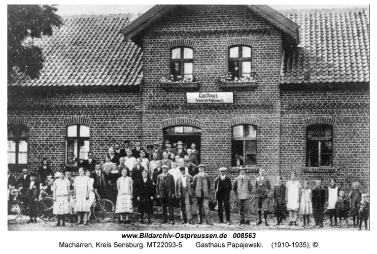 Macharren, Gasthaus Papajewski
