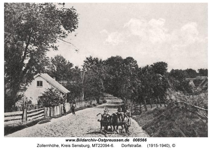 Zollernhöhe, Dorfstraße