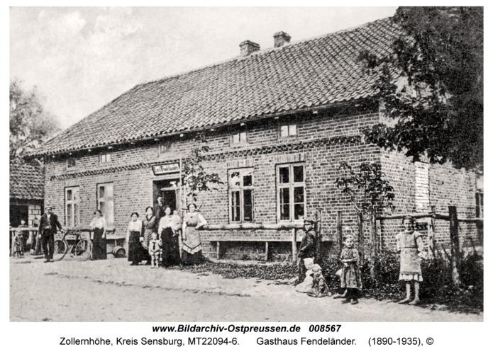 Zollernhöhe, Gasthaus Fendeländer