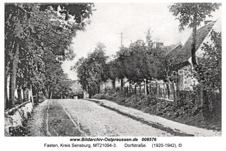 Fasten, Dorfstraße