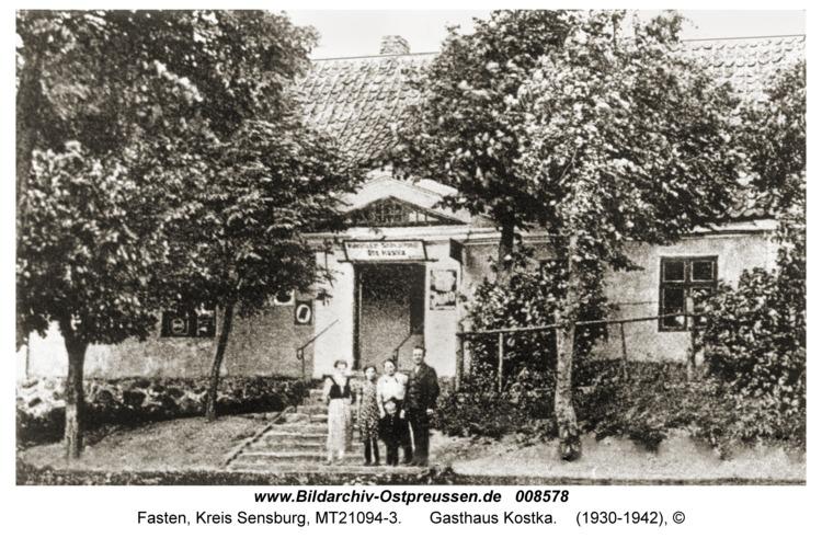 Fasten, Gasthaus Kostka