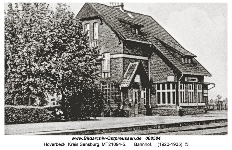 Hoverbeck, Bahnhof