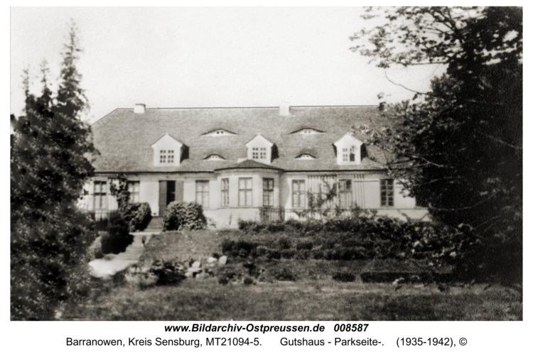 Hoverbeck, Gutshaus - Parkseite-