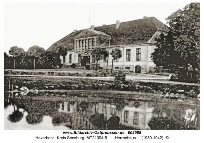 Hoverbeck, Herrenhaus