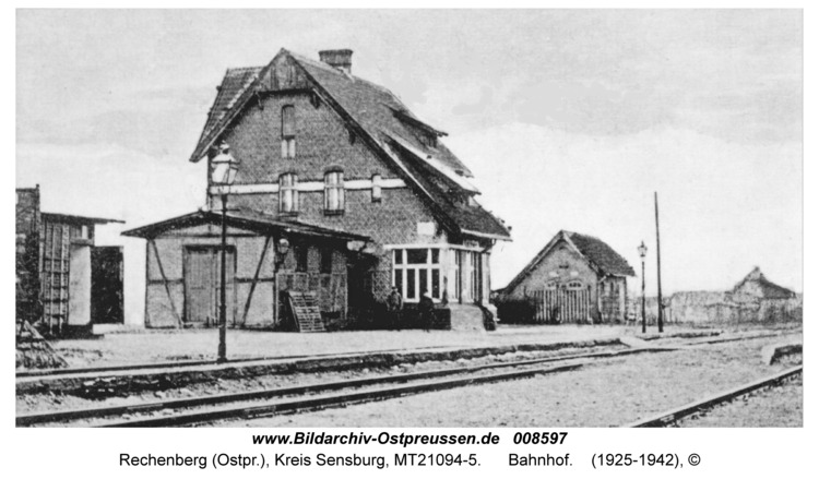 Rechenberg, Bahnhof