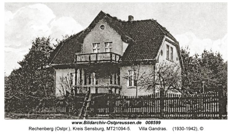 Rechenberg, Villa Gandras