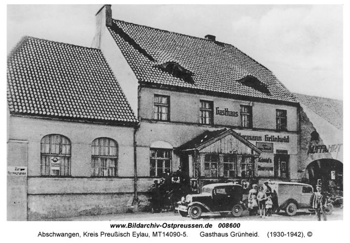 Abschwangen, Gasthaus Grünheid
