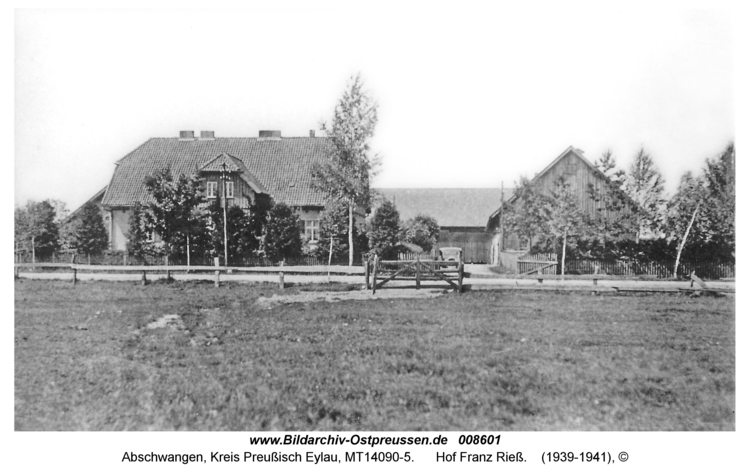 Abschwangen, Hof Franz Rieß