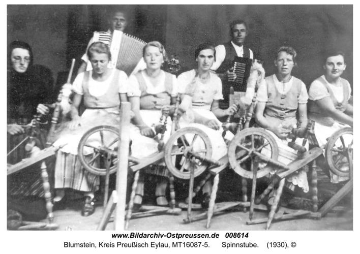 Blumstein, Spinnstube