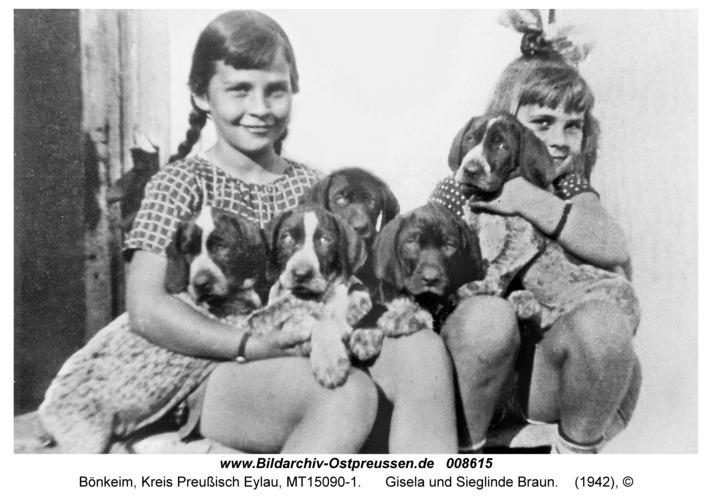 Bönkeim, Gisela und Sieglinde Braun