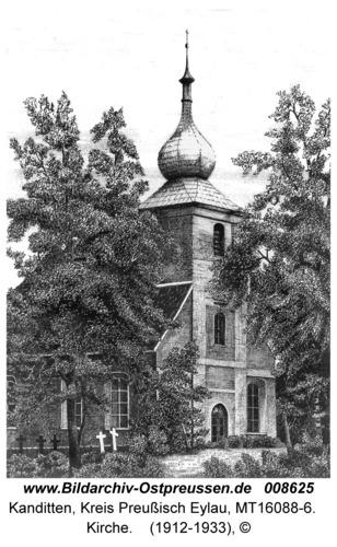 Kanditten, Kirche